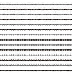 striped seamless pattern with image roller vector image