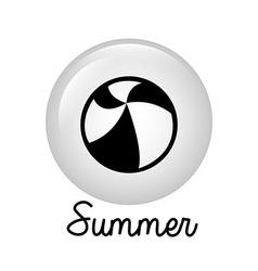 summer design vector image