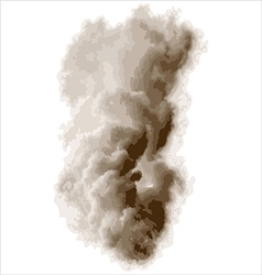 Thick smoke vector