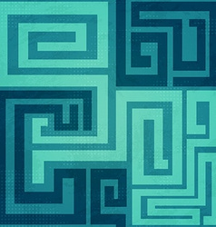 blue spiral seamless pattern vector image