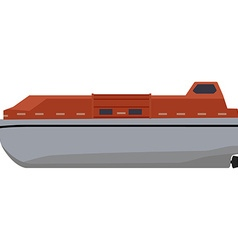 Life boat vector image vector image
