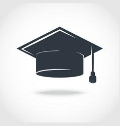 cap graduate vector image