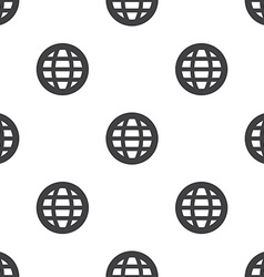 globe seamless pattern vector image vector image
