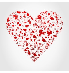 love heart2 vector image vector image