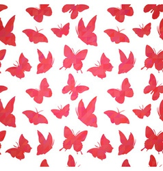 Stylish geometric seamless pattern vector image vector image
