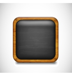 Black app icon vector