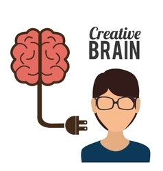 Big ideas graphic design with icons vector