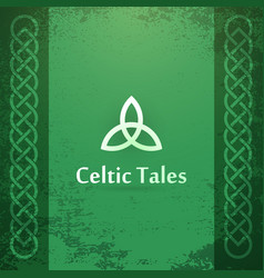 celtic tales vector image