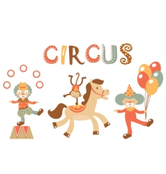 Circus vector image