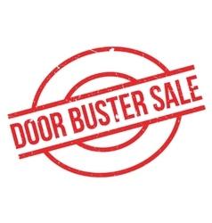 Door Buster Sale rubber stamp vector image