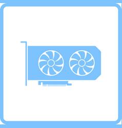 gpu icon vector image