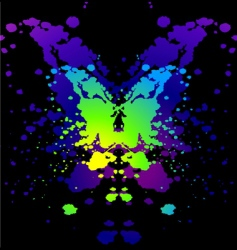 Ink blot vector