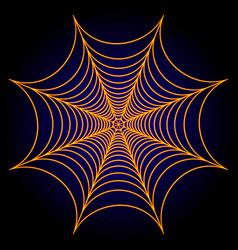Spider web cobweb background vector