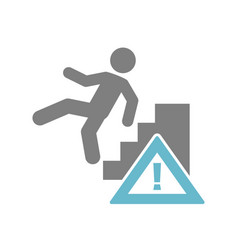 Trauma awareness icon on white background for vector