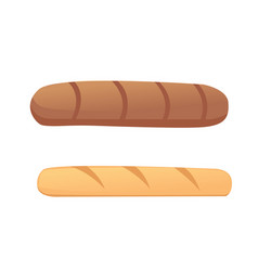 breads and bakery products vector image