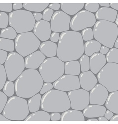 Seamless pattern or background of paving stones vector image