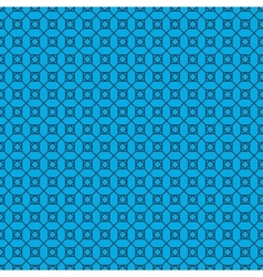 Abstract pattern on blue background vector image