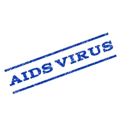 AIDS Virus Watermark Stamp vector