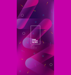 Color background design fluid gradient shapes vector