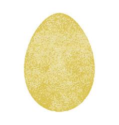 vintage color egg vector image
