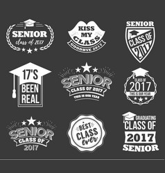 collection of logo badges and labels for vector image