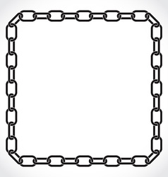 frame of the chain vector image vector image