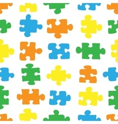 The pattern of the puzzle 03 vector image