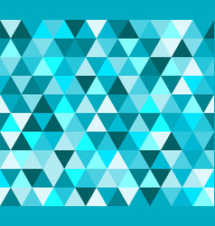 Cyan triangular seamless pattern geometric vector