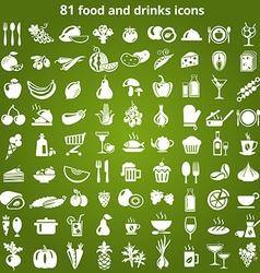 FoodDrinks vector image