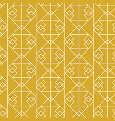 geometric art deco elegant seamless pattern vector image