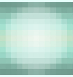 Gradient background in shades green made vector