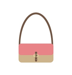 Handbag icon vector image