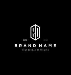 Letter bd logo icon design vector