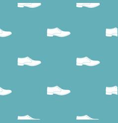 Men shoe pattern seamless vector