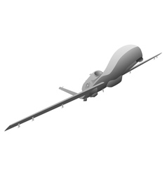 Military Drone vector
