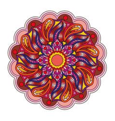 oriental ornament mandala vector image