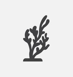 Seaweed icon vector
