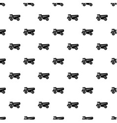 truck icon simple style vector image