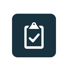 Vote icon Rounded squares button vector