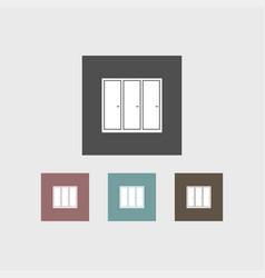 wardrope icon simple vector image