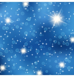 Starry night abstract background vector