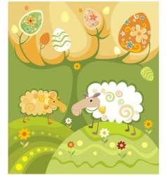 sheep illustration vector image