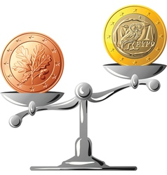 german coin vector image
