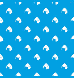 Conic tent pattern seamless blue vector