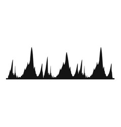 equalizer technology icon simple black style vector image