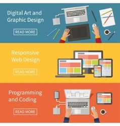 Graphic and Web design programming digital art vector