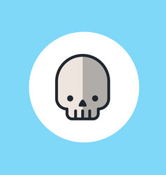 skull icon sign symbol vector image