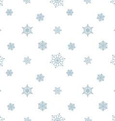 Snowflake pastel blue white background vector