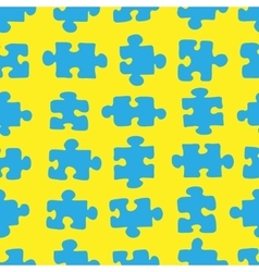 The pattern of the puzzle 04 vector image