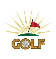 Golf2 resize vector image